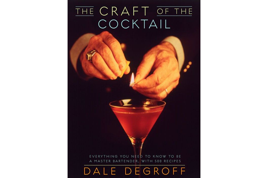 The Craft of the Cocktail Book by Dale DeGroff