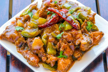 Indian Style Chinese Chili Chicken Recipe