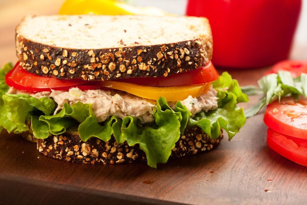 Parmesan Tuna Sandwiches