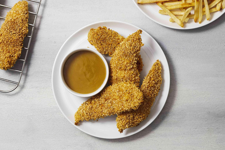 Crispy Baked Chicken Tenders Recipe