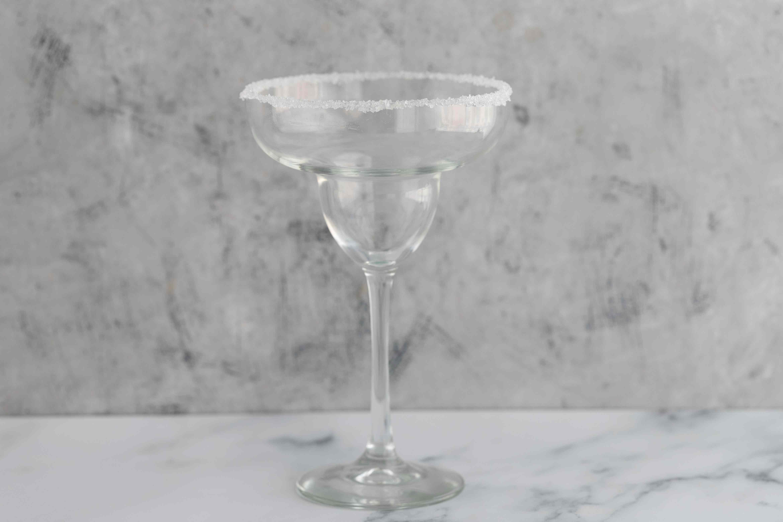 Salt rim glass