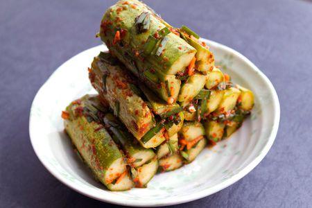Cucumber Kimchi Oi Sobaegi Recipe