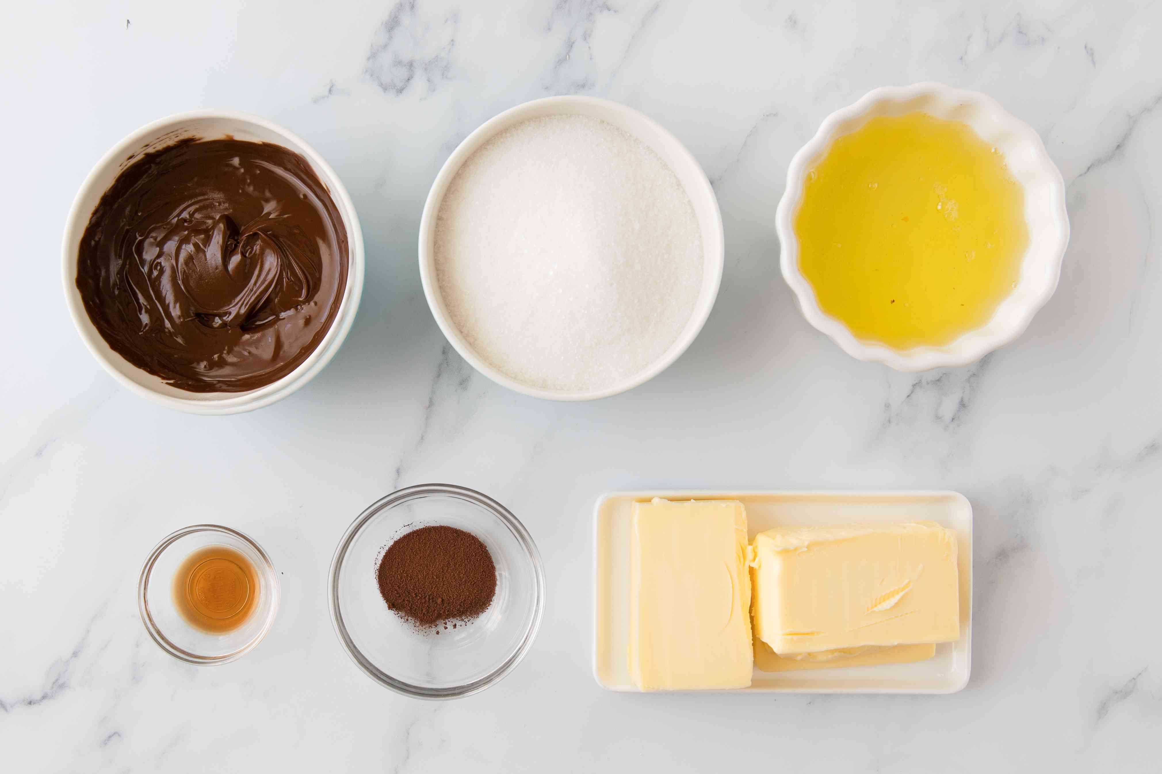 Ingredients for frosting