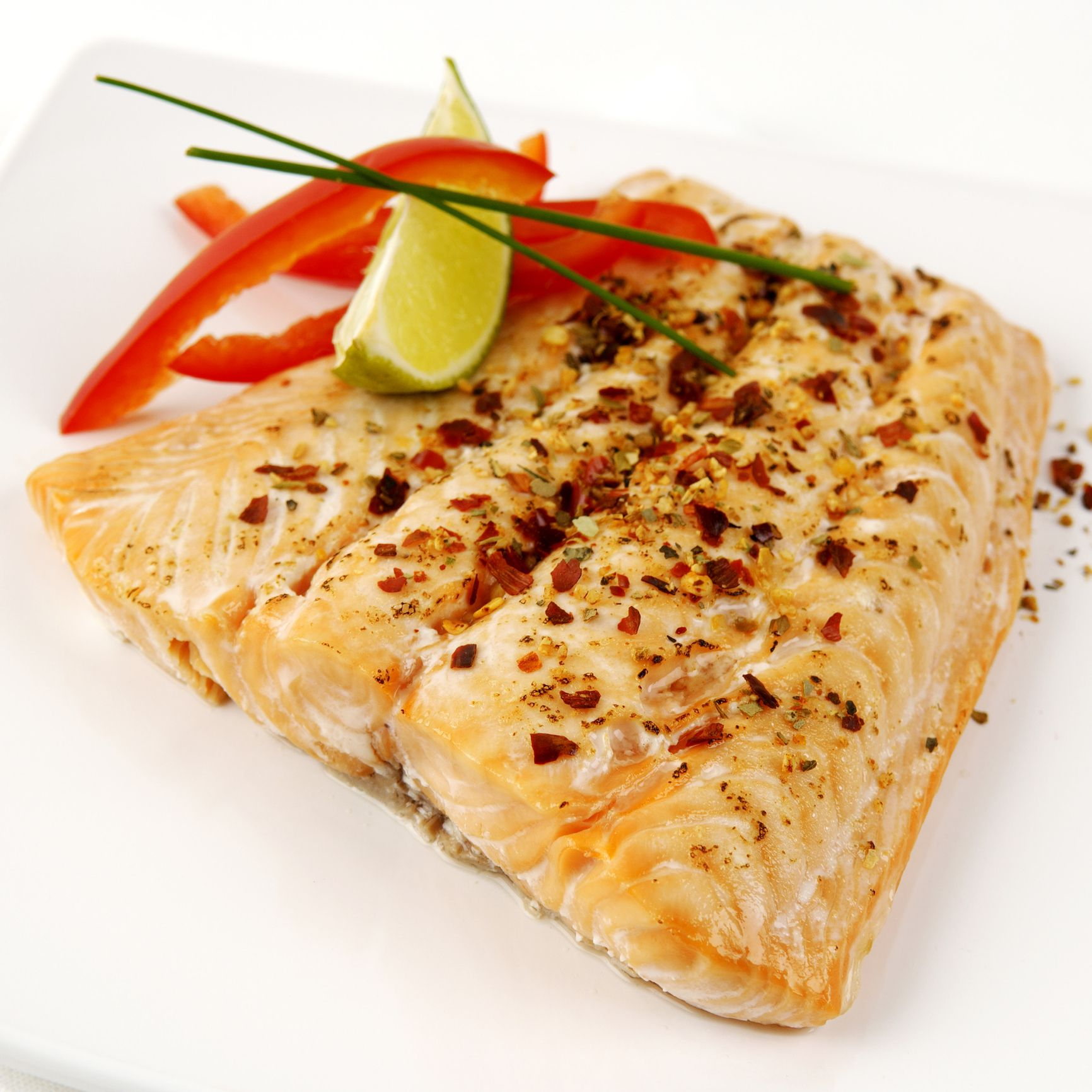Salmon in Soy, Honey and Ginger Sauce