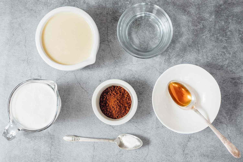 No Churn Coffee Ice Cream ingredients