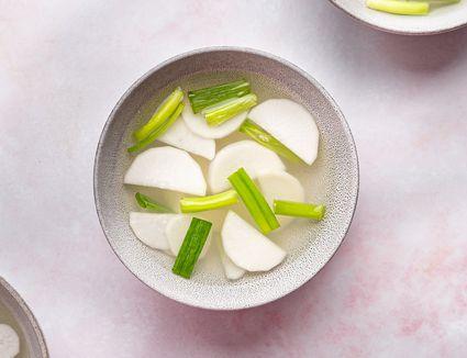 Korean White Radish Kimchi (Dongchimi)