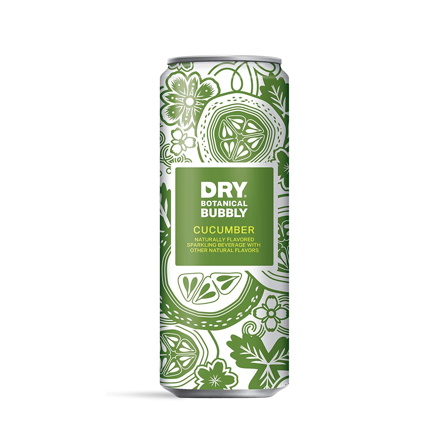 DRY Non-Alcoholic Botanical Bubbly Sparkling Water