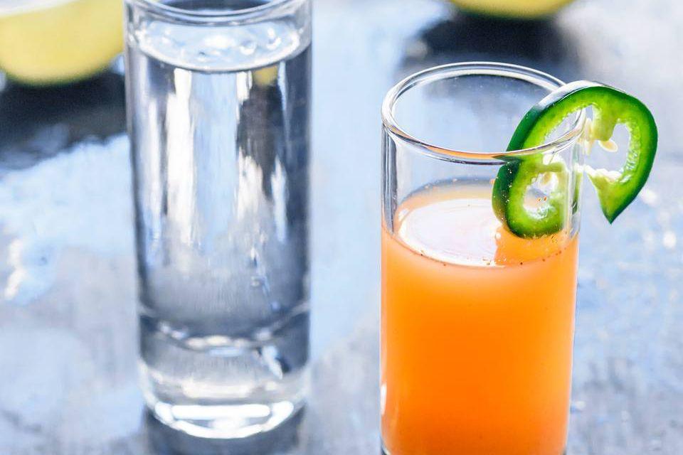 Sangrita Tequila Shot