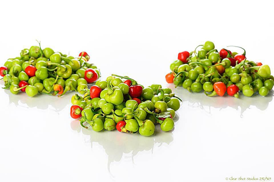 Ghanaian Green round Peppers: Kpakpo Shito