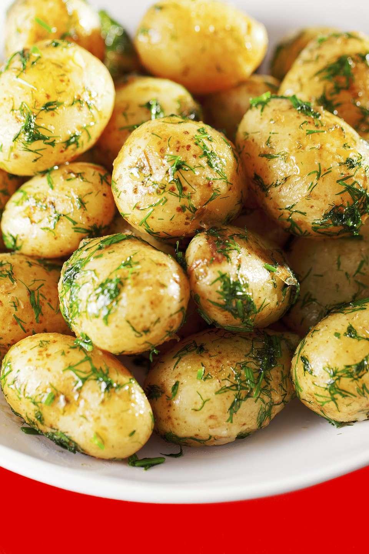 Yummy Dill Potatoes
