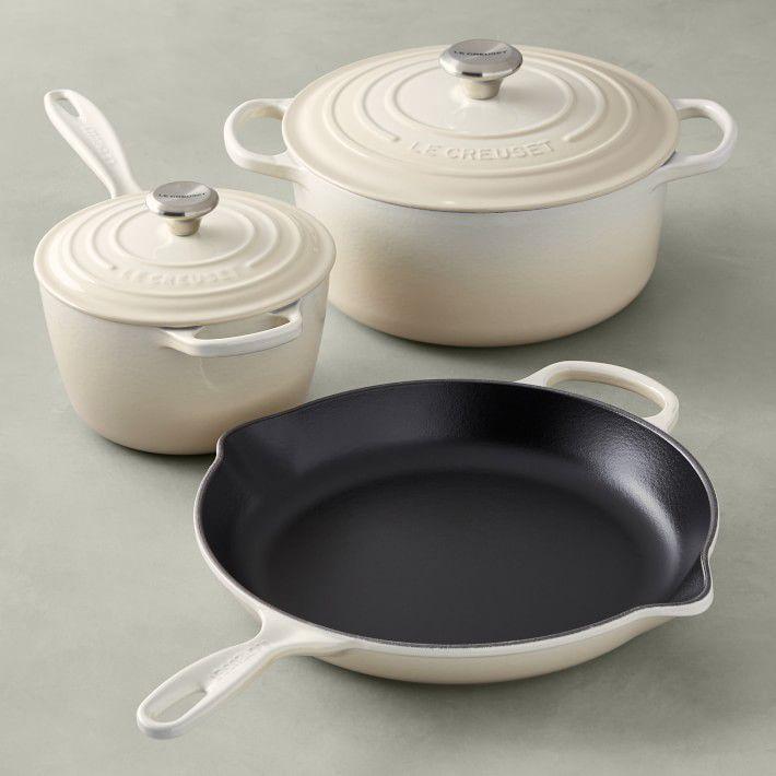 Le Creuset Signature Cast-Iron 5-Piece Cookware Set