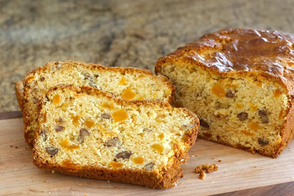 Golden Apricot Nut Bread