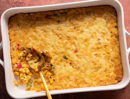 Trinidadian Corn Pie Casserole