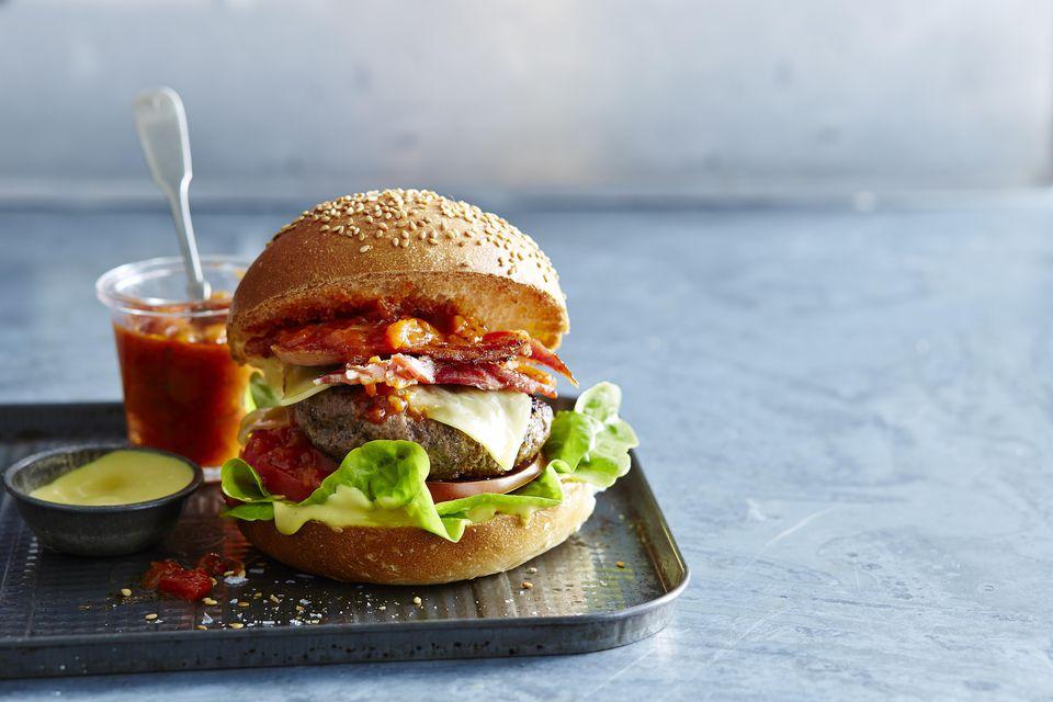 Sriracha Bacon Burger