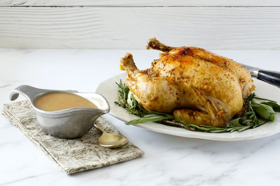 Instant Pot chicken with optional gravy.