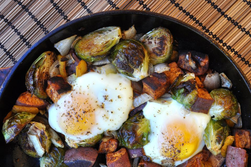 Hash With Brussels Sprouts
