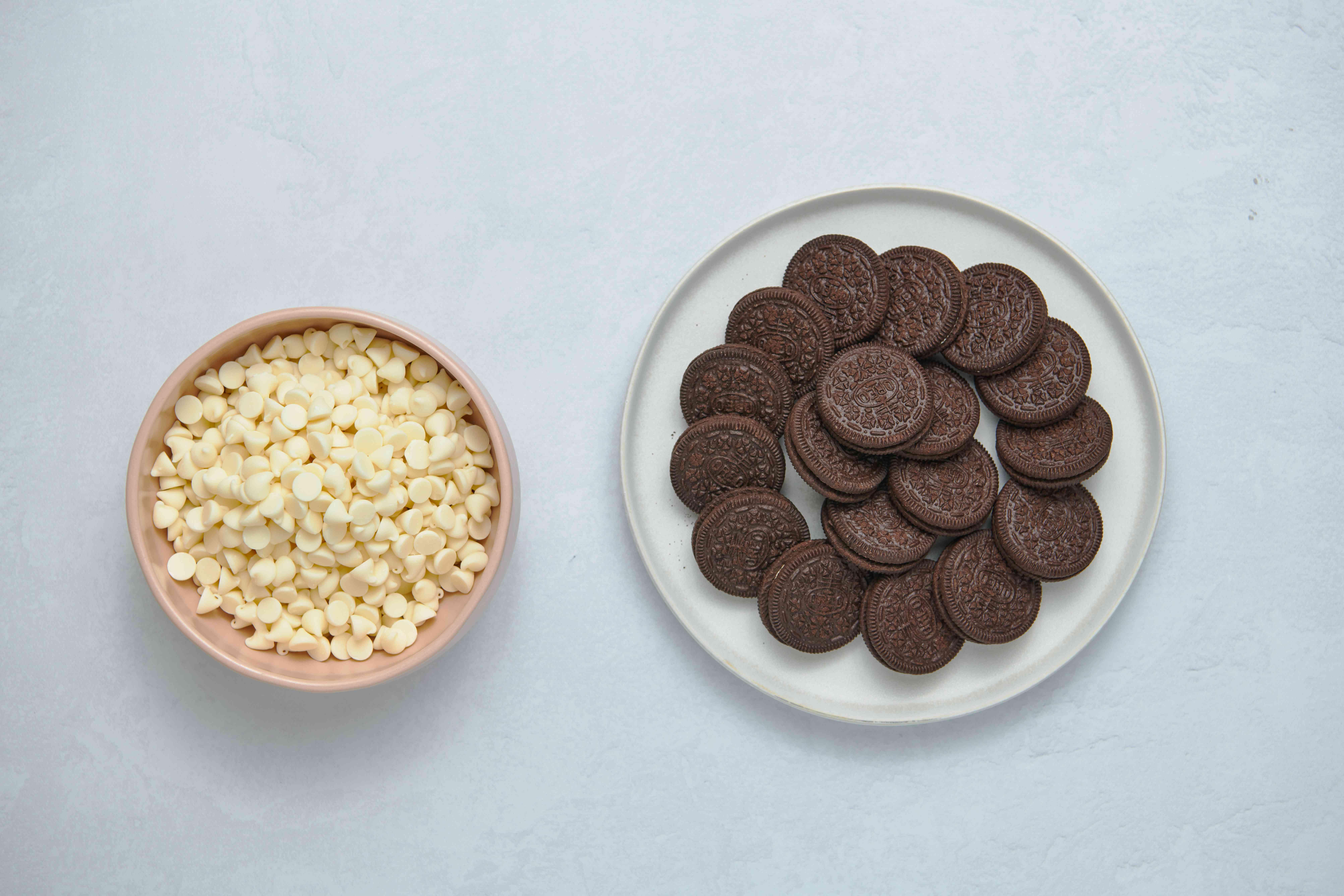 Cookies-and-Cream Bark ingredients
