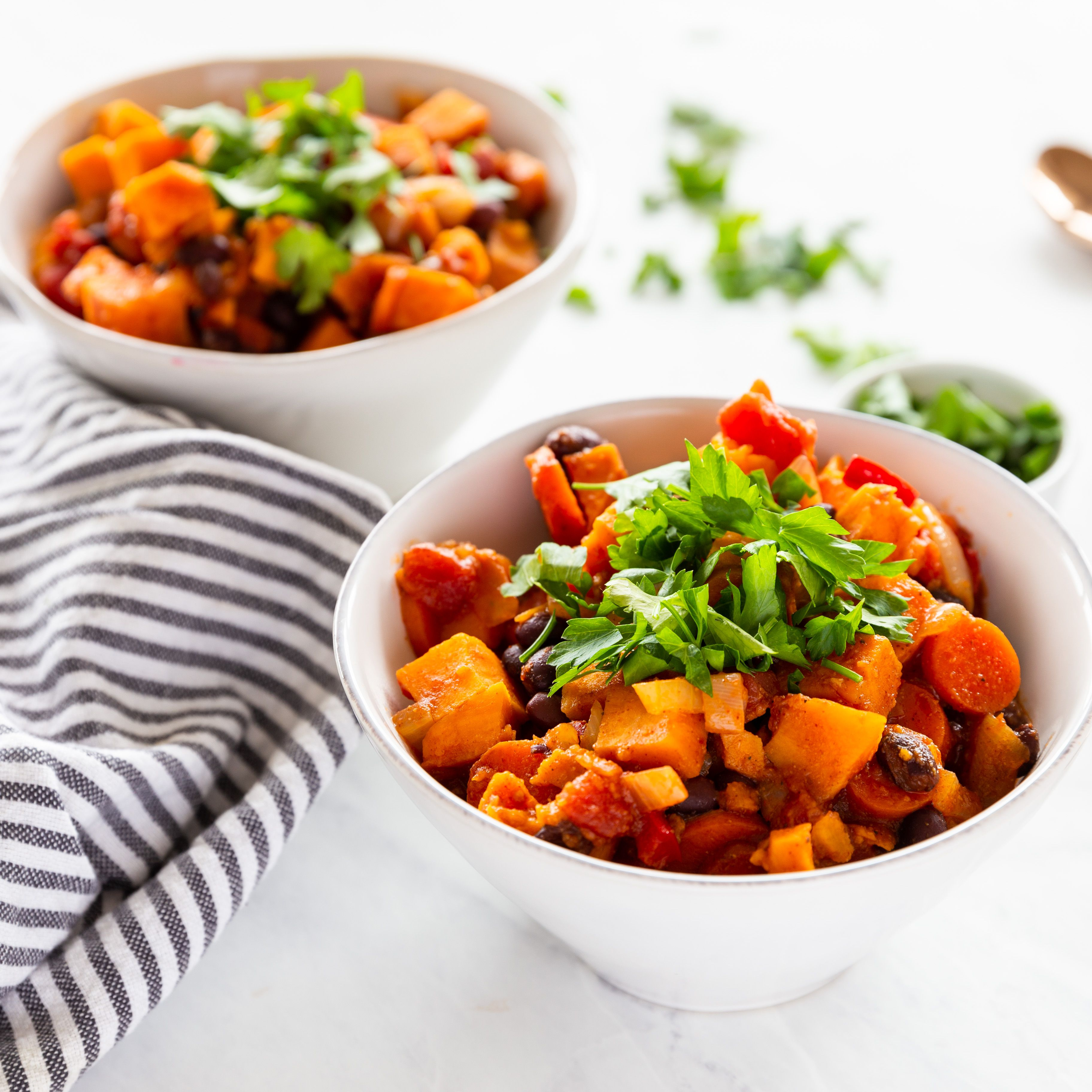 Black Bean And Sweet Potato Chili Recipe