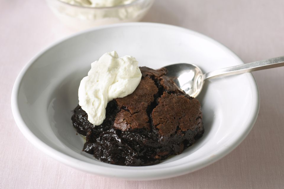 Slow Cooker Chocolate Pudding Cake