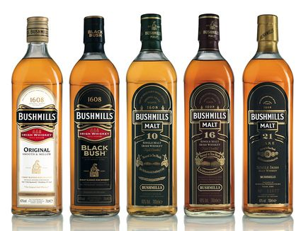 Bushmills Irish Whiskey Portfolio