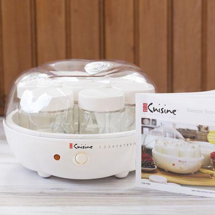 Euro Cuisine YM80 Electric Yogurt Maker