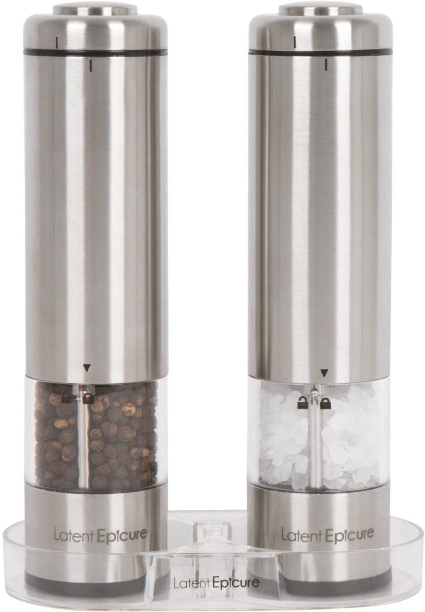 Latent Epicure Battery Operated Grinder Set