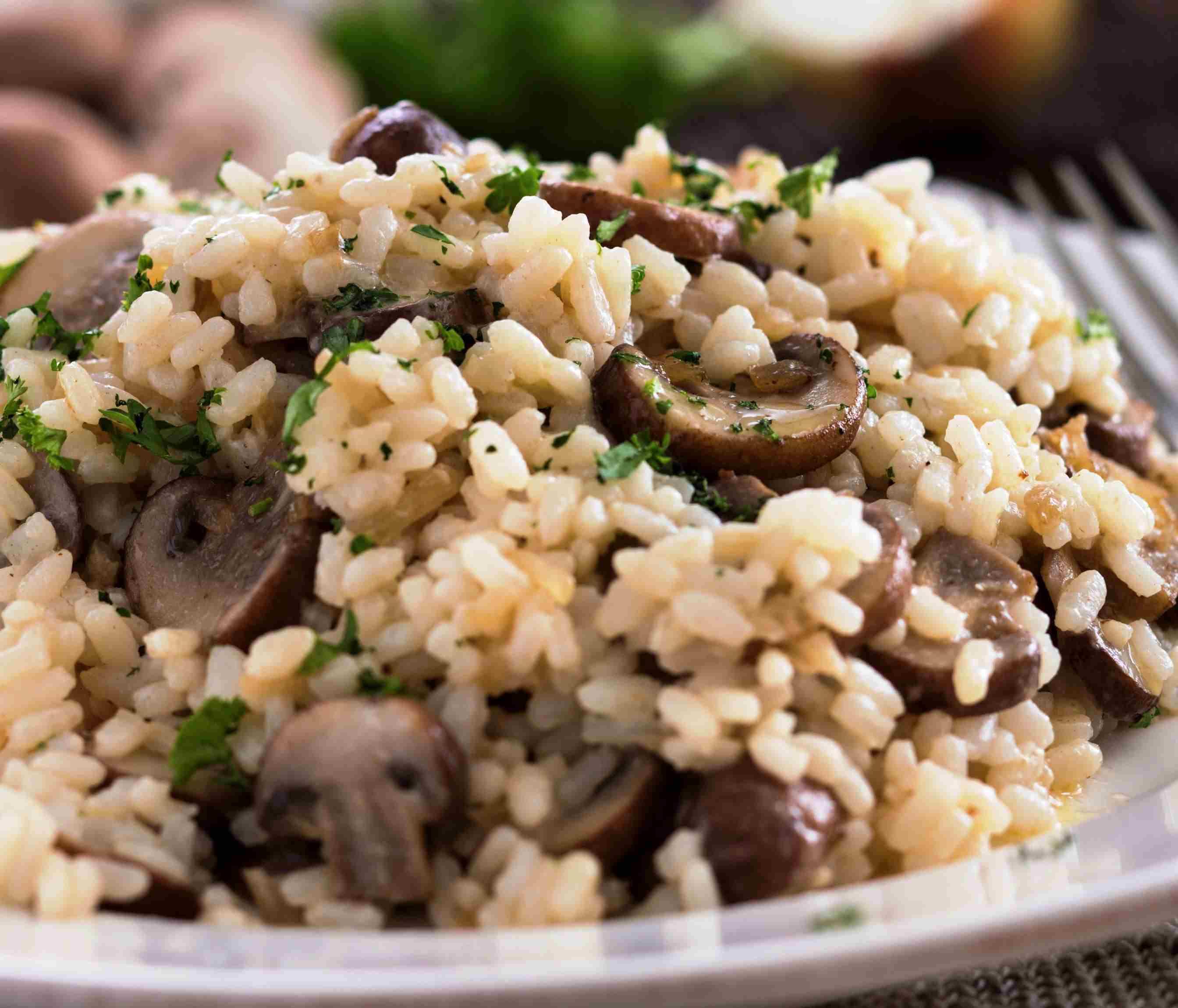 Vegetarian Porcini Mushroom Risotto