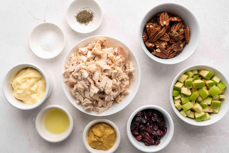 Apple Pecan Chicken Salad ingredients