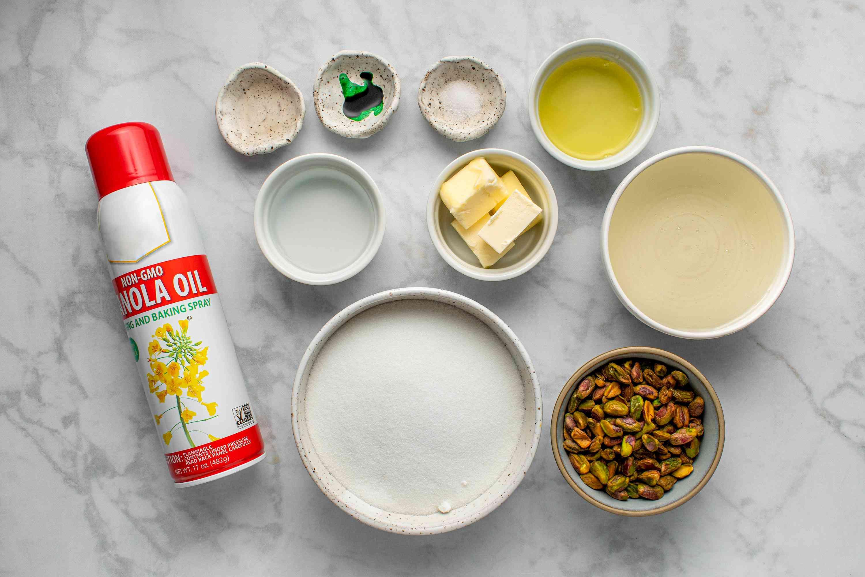 Pistachio Nougat ingredients
