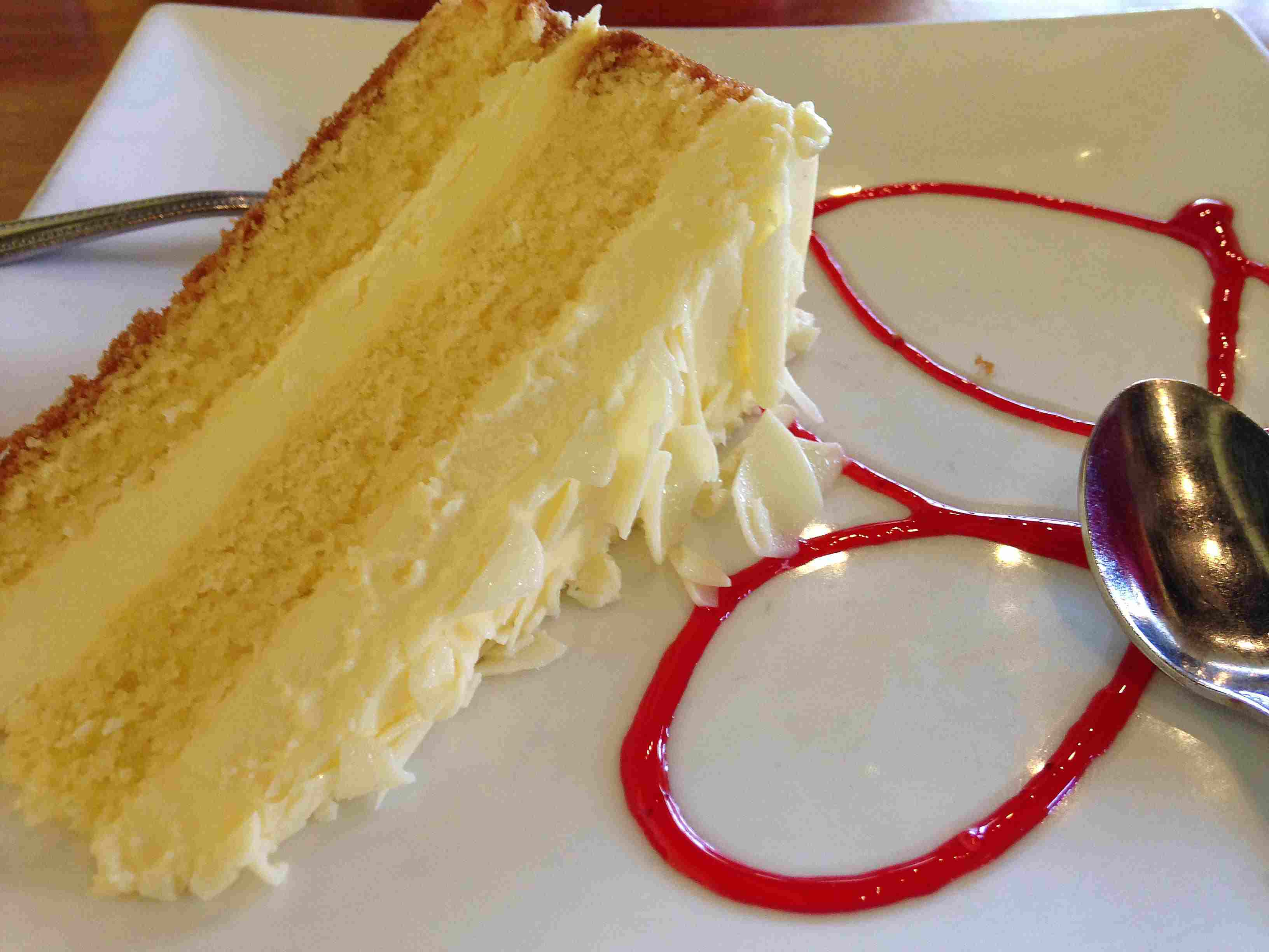Limoncello Cake with Mascapone Frosting