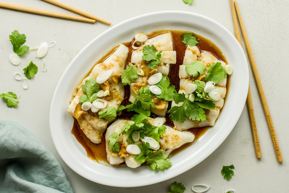 Ginger soy steamed fish recipe