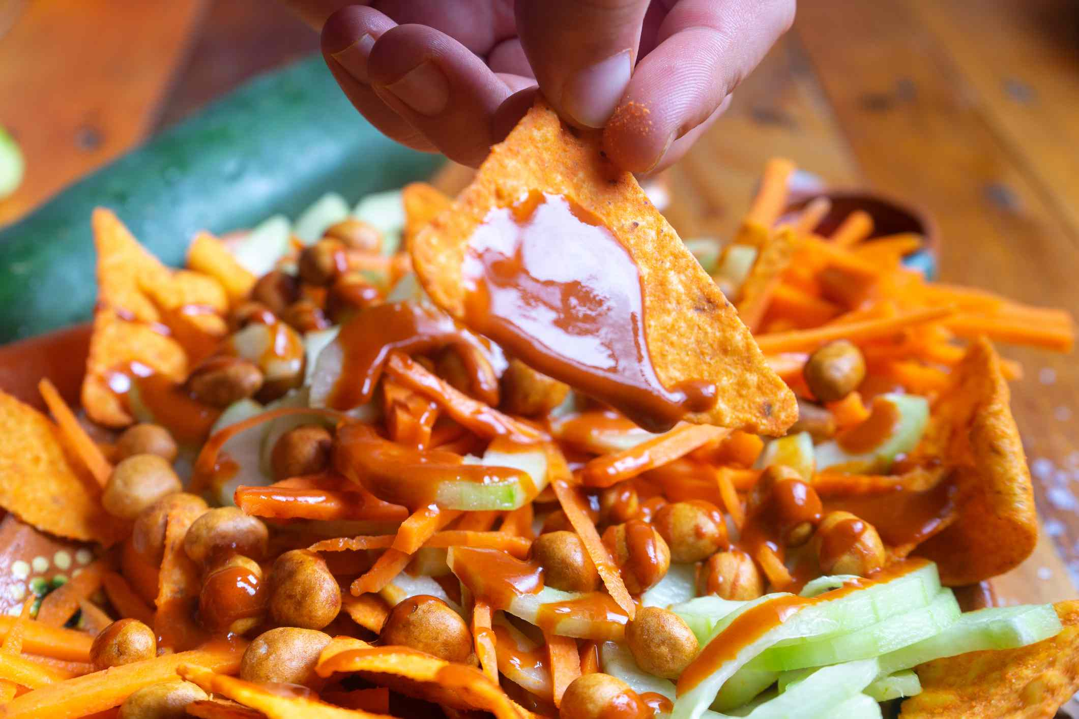 chamoy on nachos