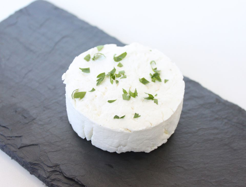 Goat Cheese Made with Starter Culture