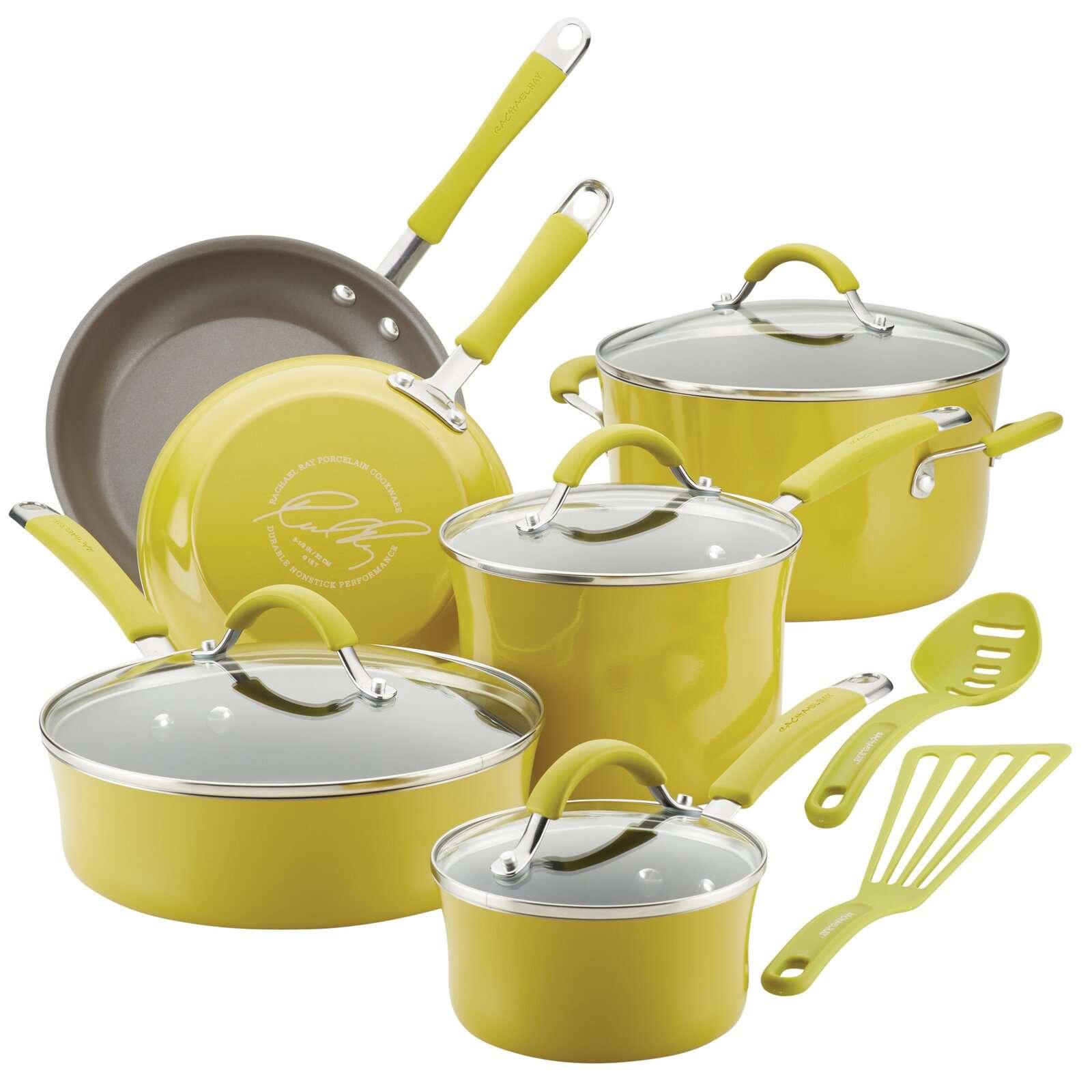 Rachel Ray Cucina Lemongrass pots