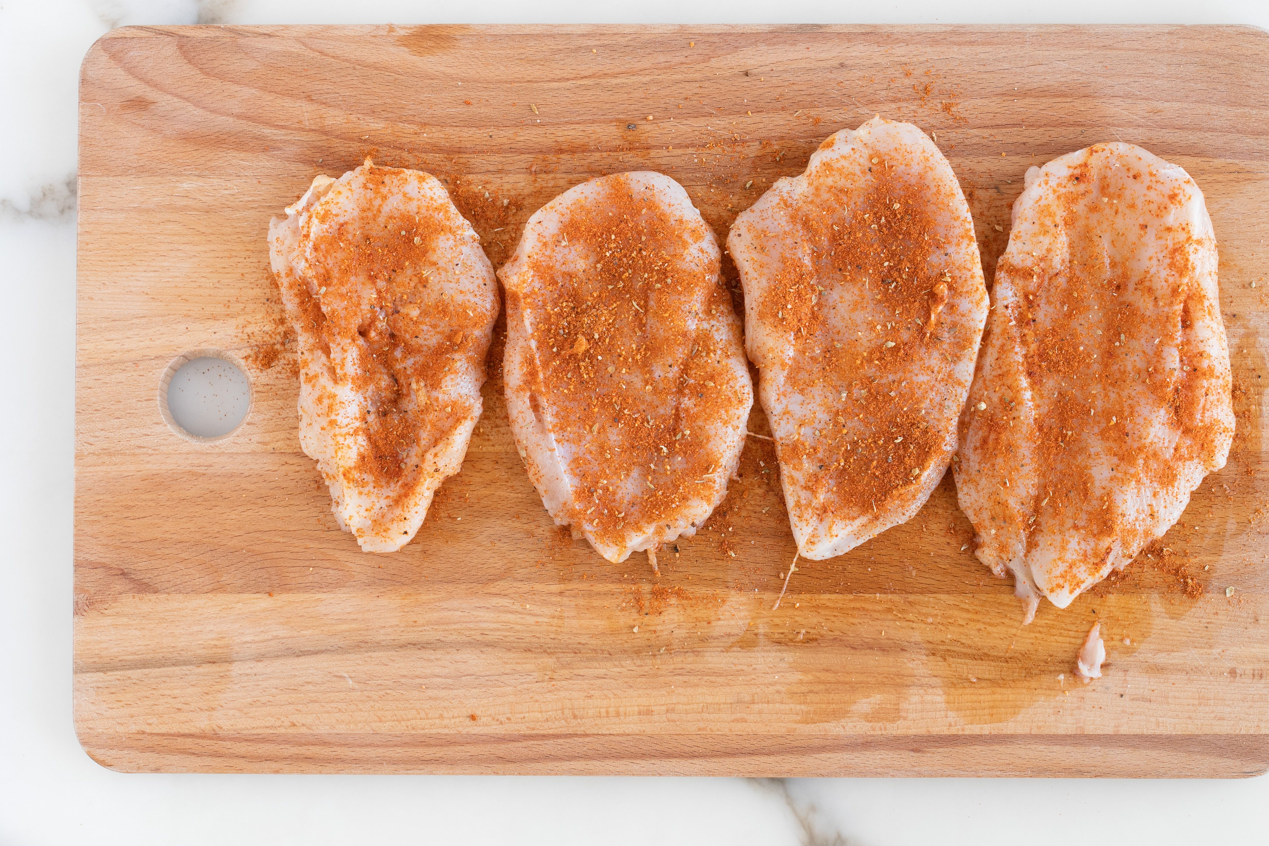 Sprinkle chicken