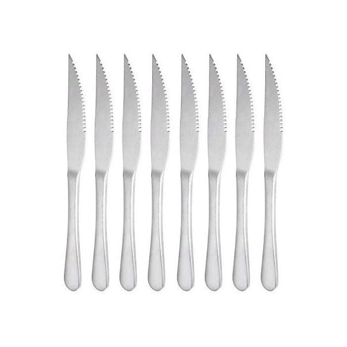 M MCIRCO MCIRCO 18/10 Heavy-Duty Stainless Steel Steak Knife Set