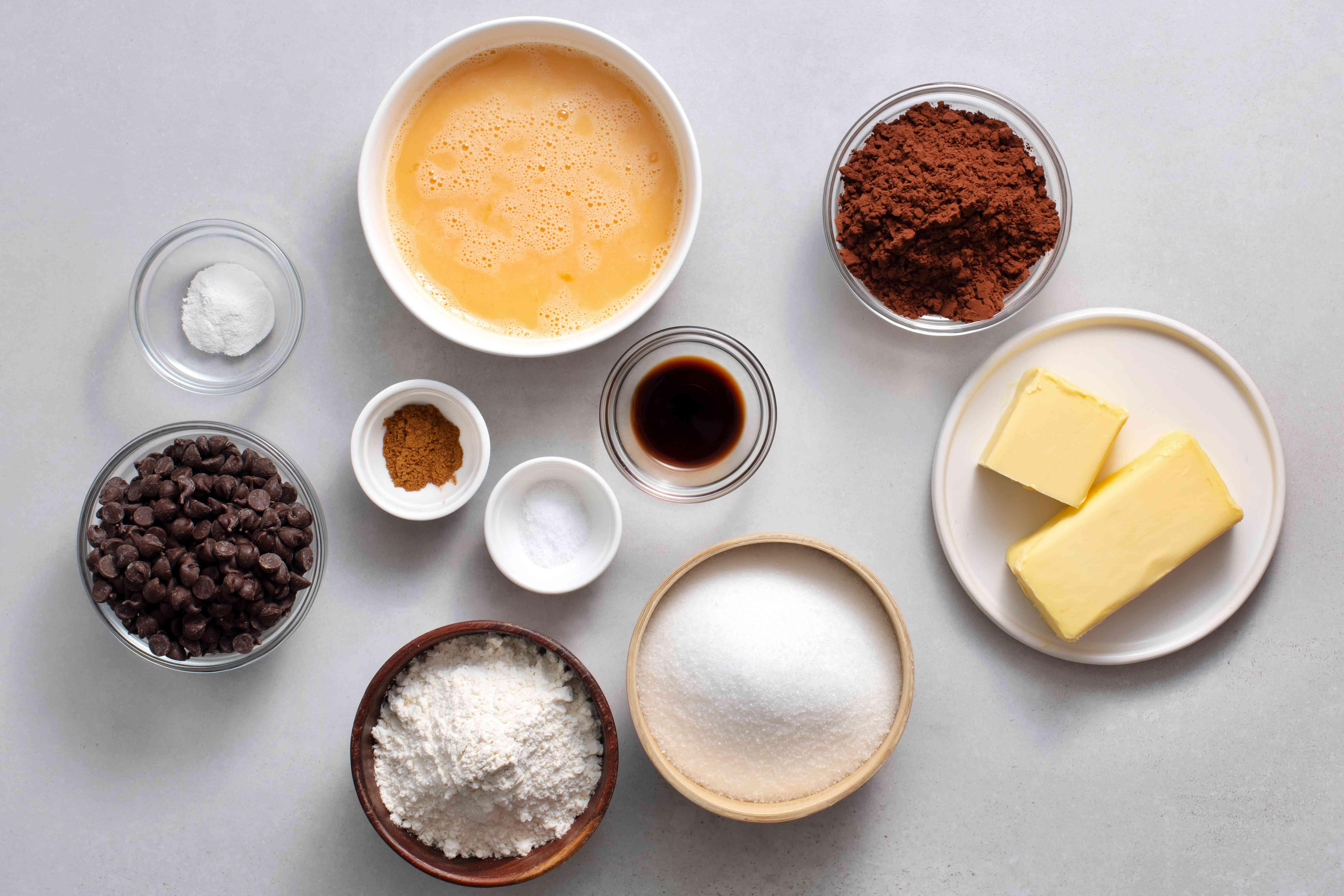 Best Brownies ingredients