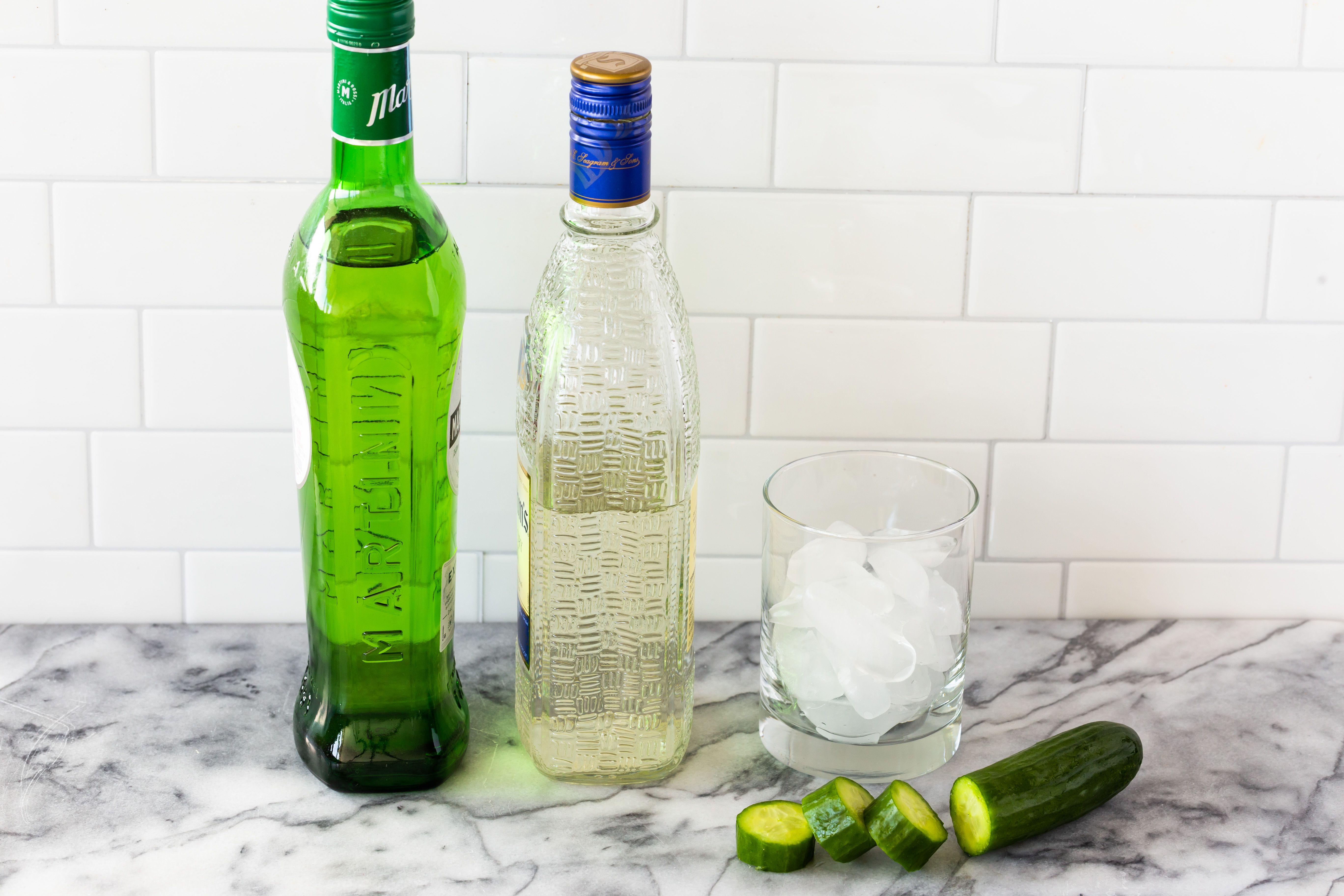 Cucumber martini ingredients