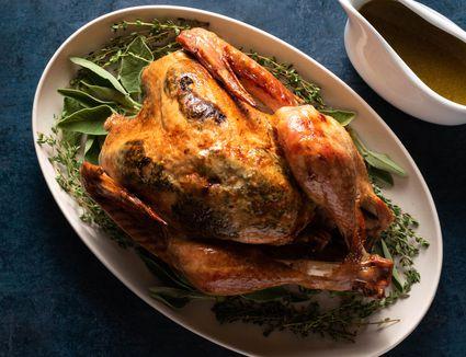 Roasted Maple and Orange-Glazed Turkey