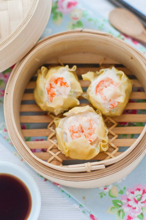 Delicious Authentic Prawn and Scallop Shumai