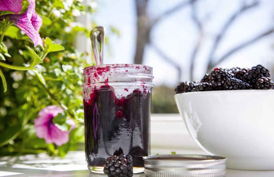 how to make mulberry jam without pectin
