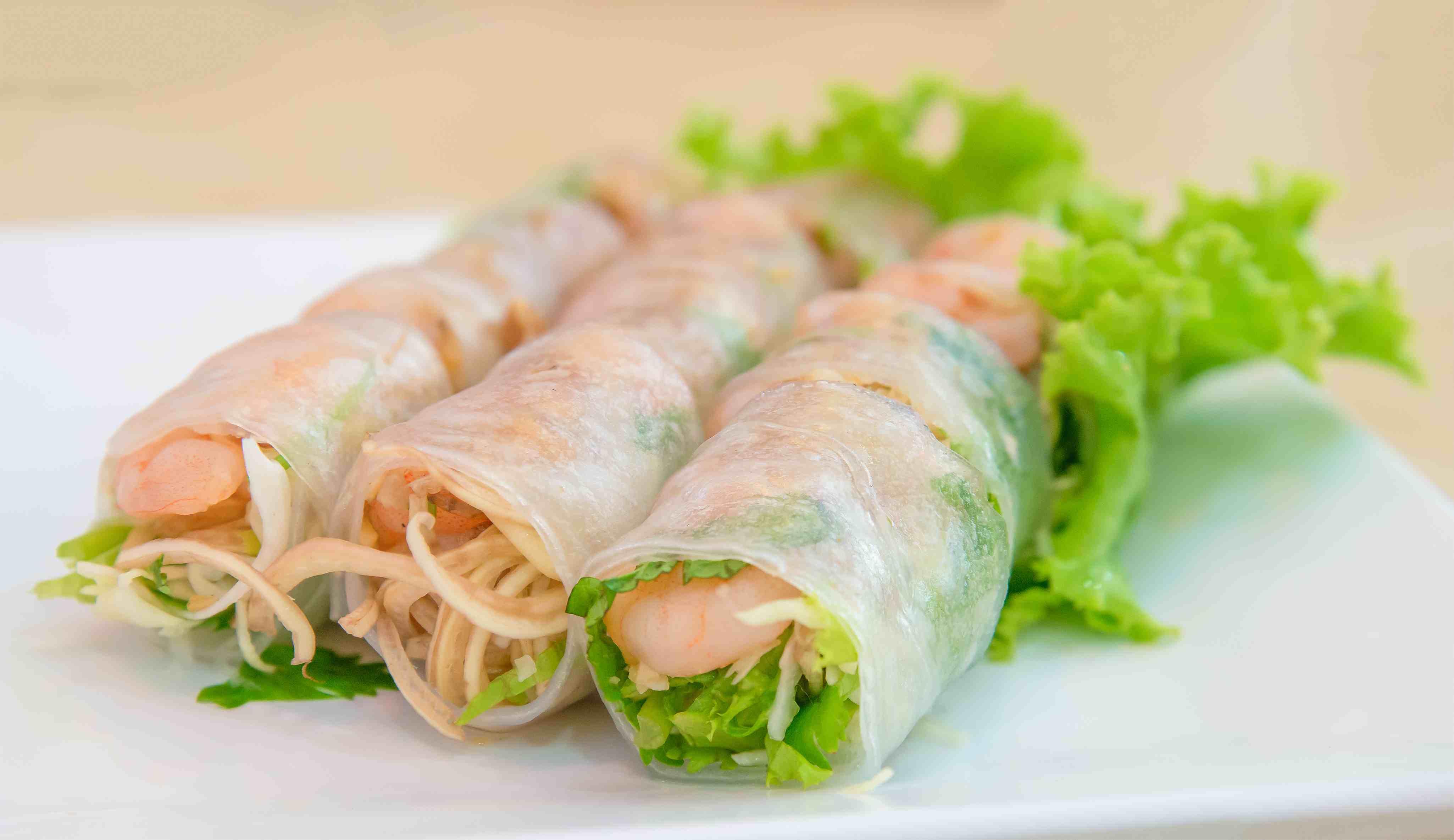 Summer Roll , Salad roll , Vietnamese Food