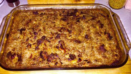 Traditional lithuanian potato pudding kugelis recipe lithuanian kugelis forumfinder Gallery