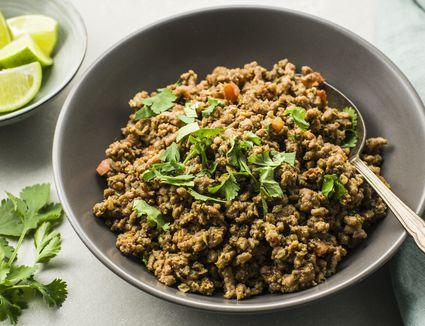 Masala kheema dry spicy minced meat