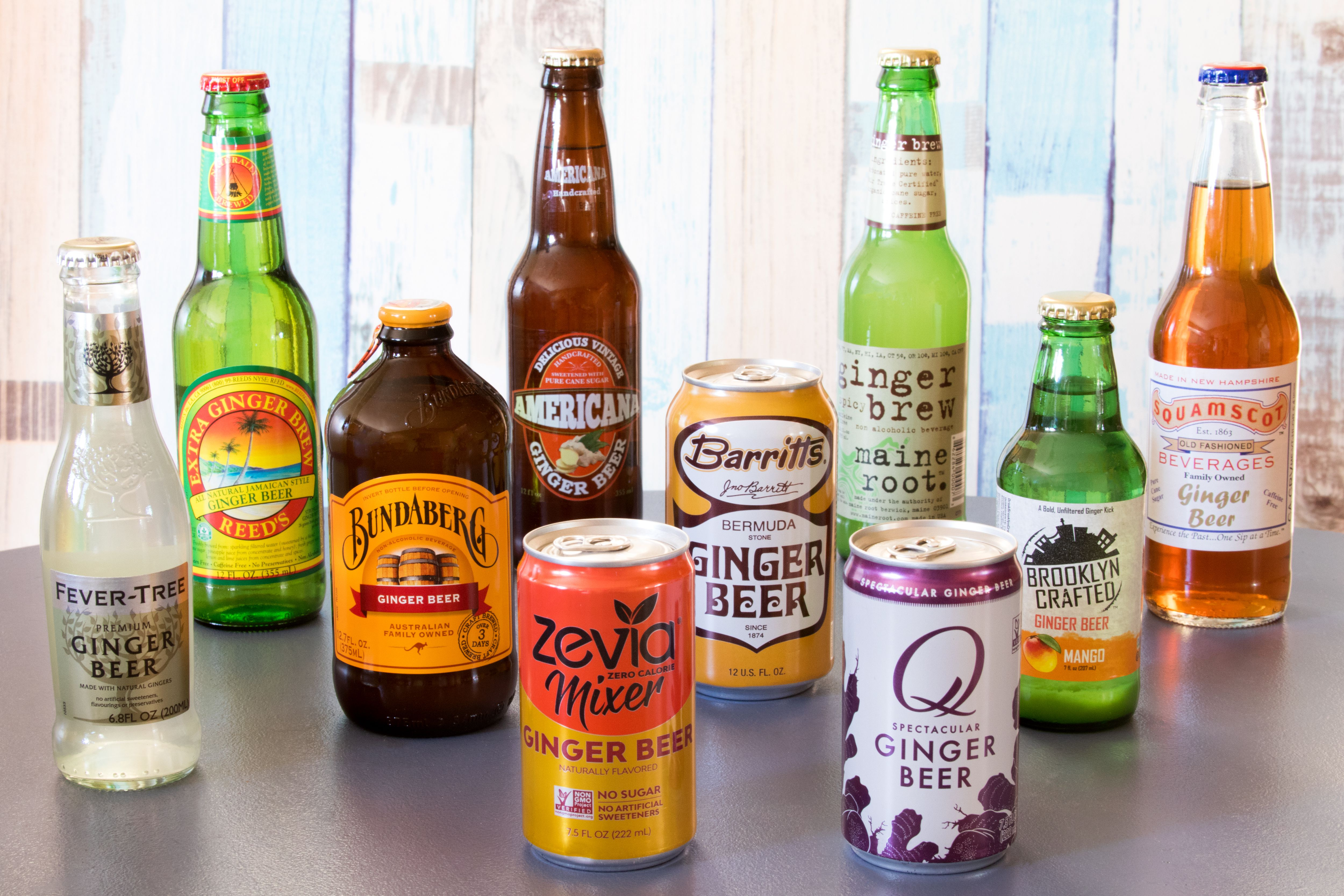 The 11 Best Ginger Beers For Moscow Mules And More