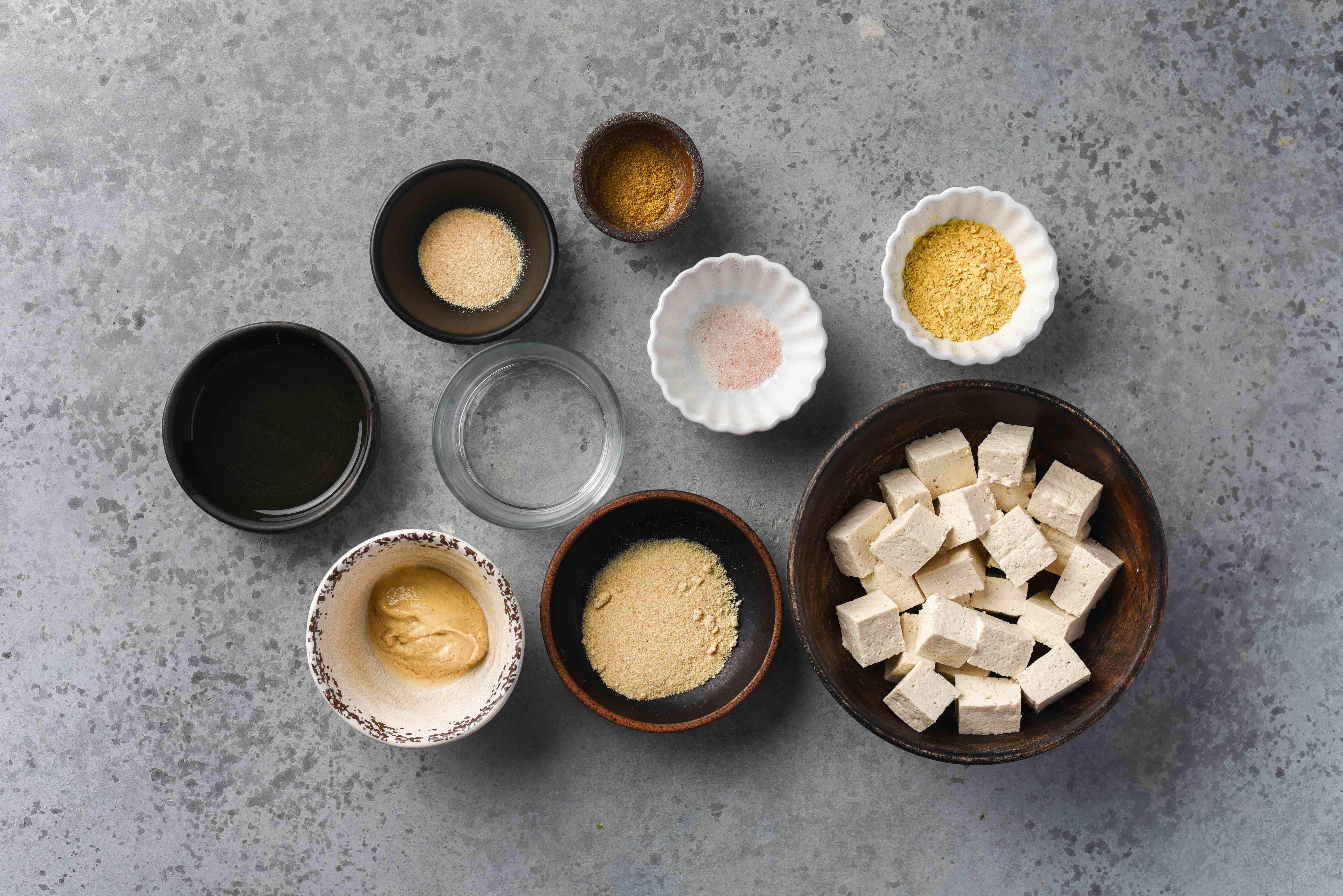 Vegan Paneer Cheese Substitute (Made From Tofu) ingredients