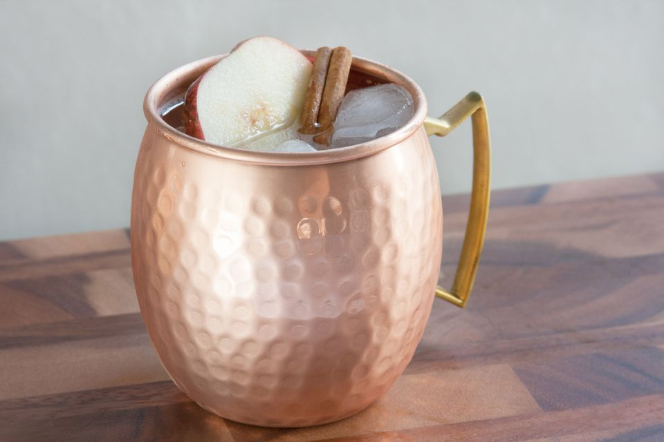 Ketel One Vodka's Apple Cinnamon Mule Cocktail