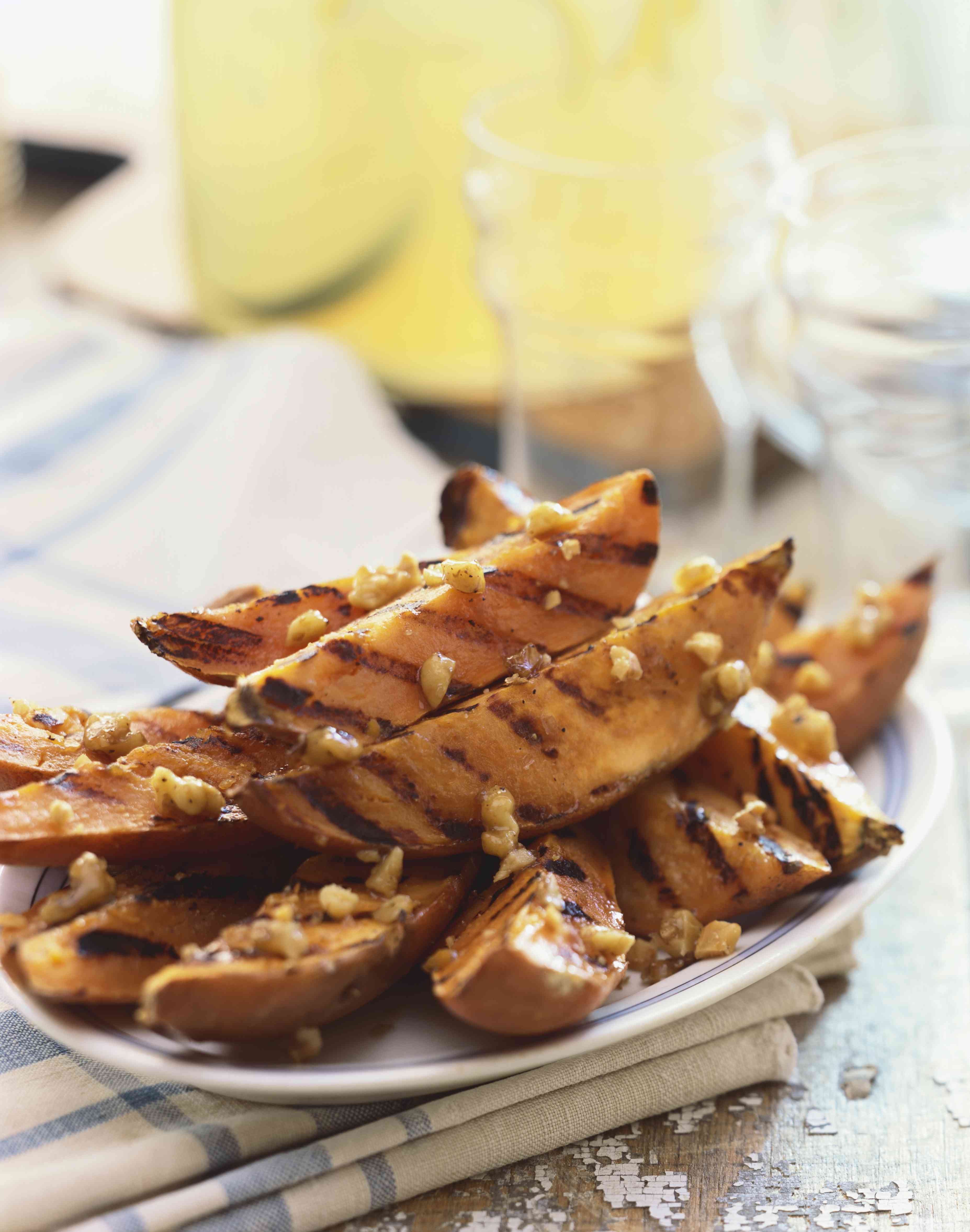 Grilled Sweet Potato Fries