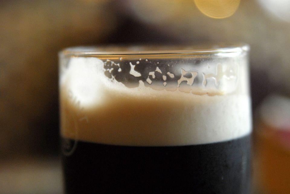 Irish Guinness, in bar