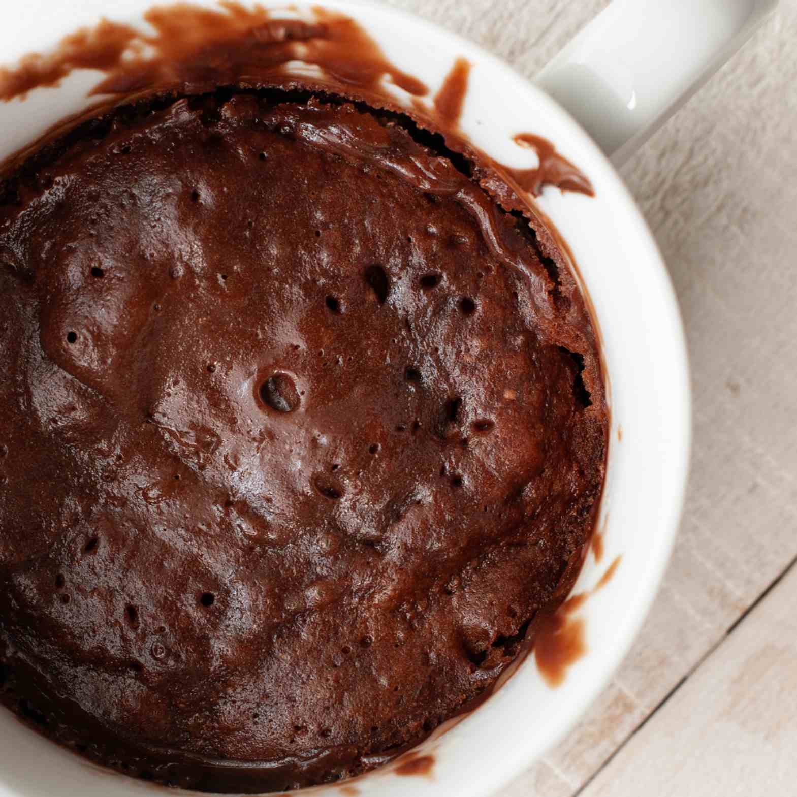 Nutella Mug Cake Recipe